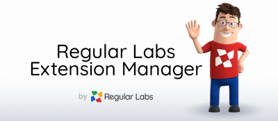 Regular Labs Extension Manager