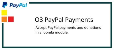 O3 PayPal Payments